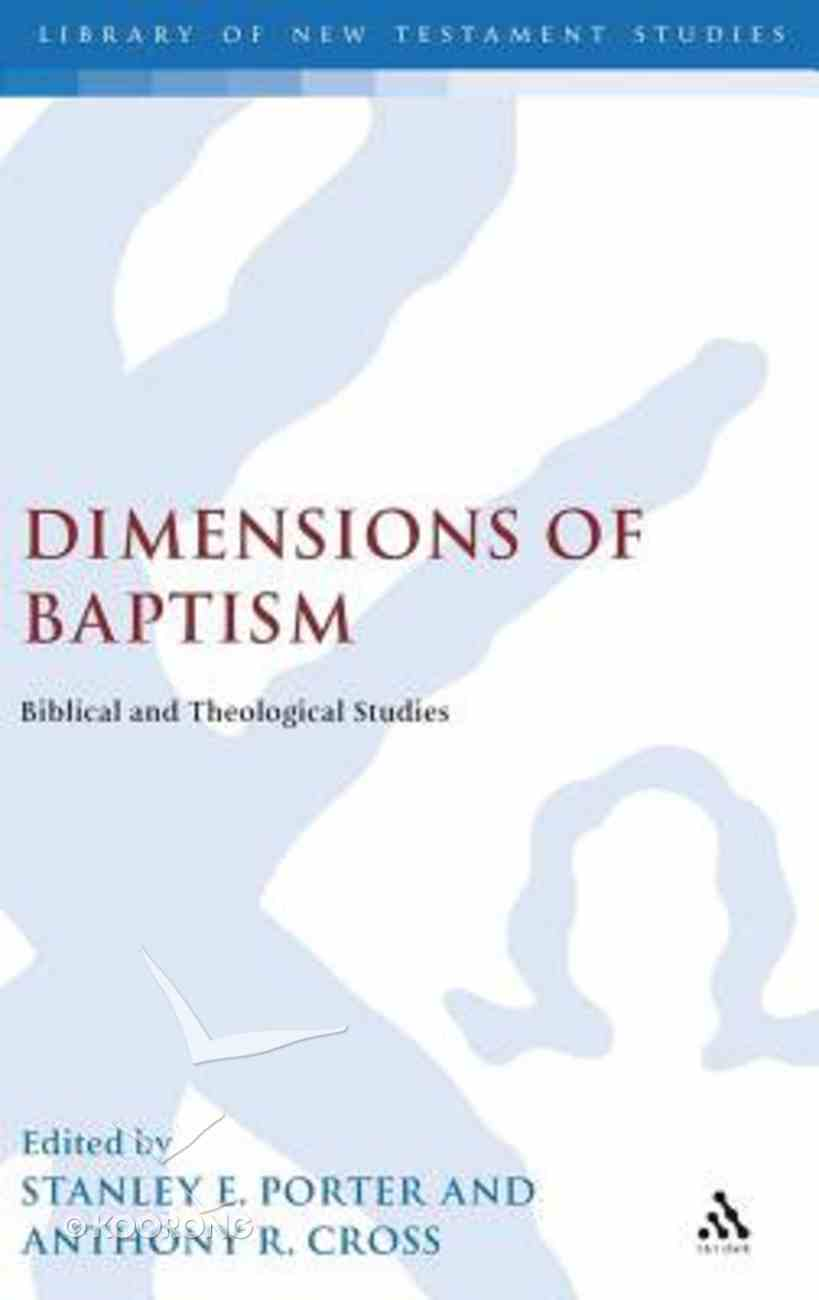Dimensions of Baptism Hardback