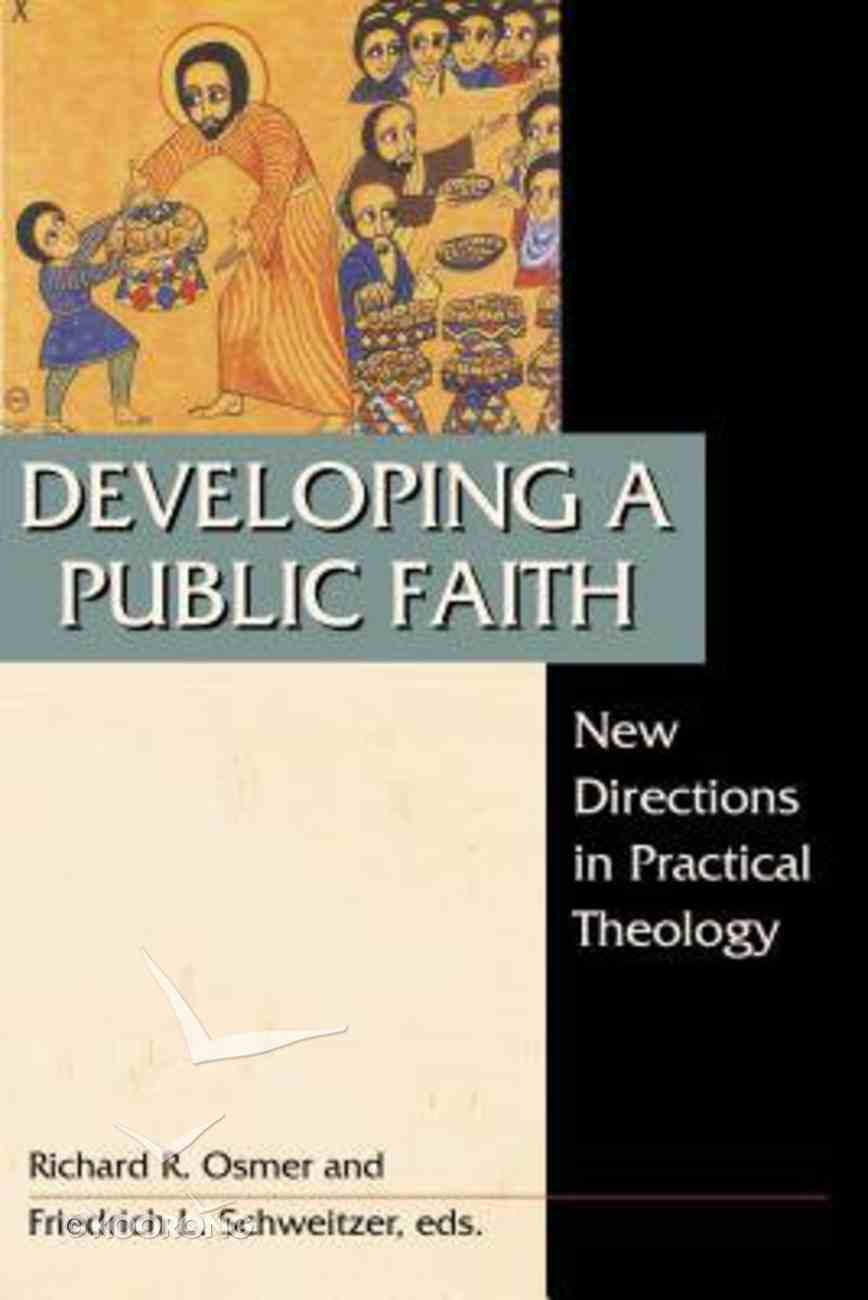 Developing a Public Faith Paperback