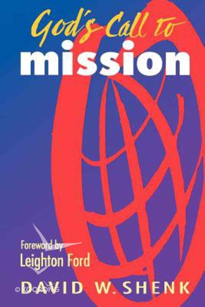 God's Call to Mission Hardback