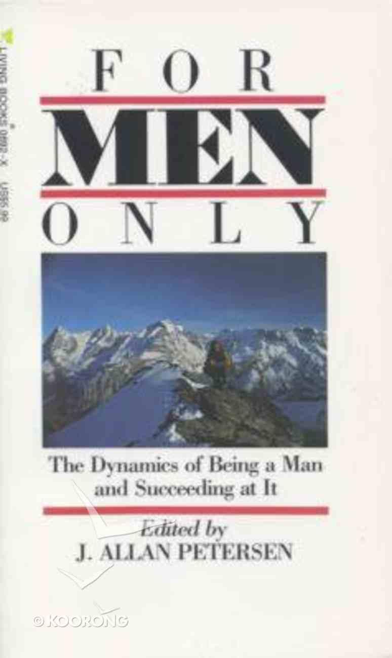 For Men Only Paperback