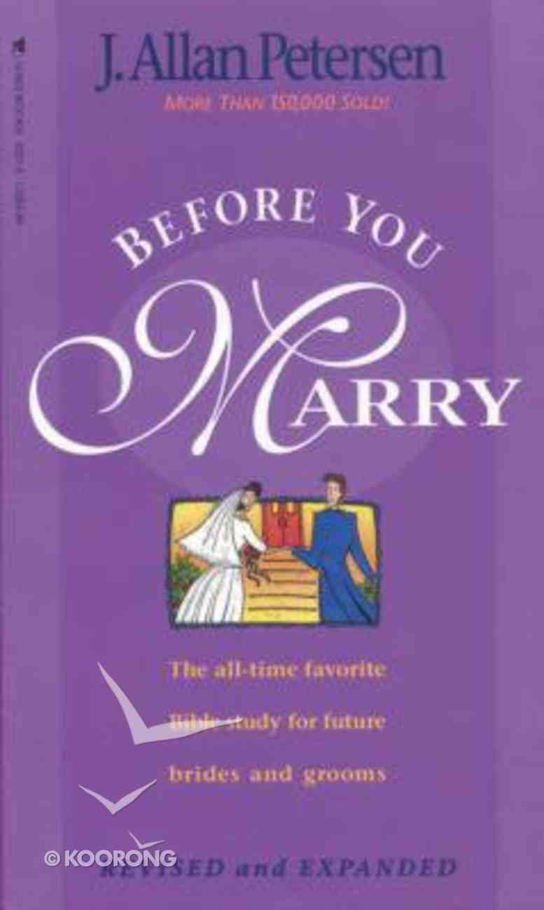 Before You Marry Paperback