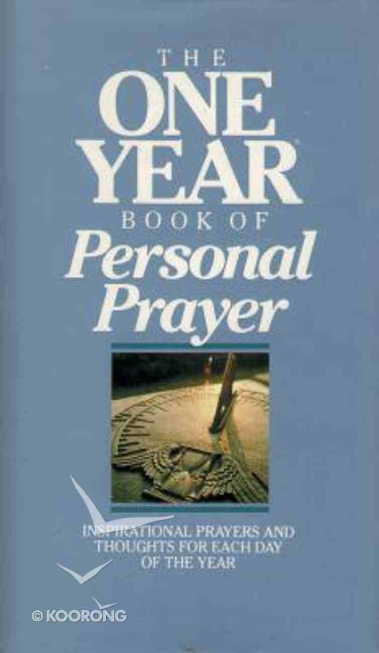The One Year Book of Personal Prayer Hardback
