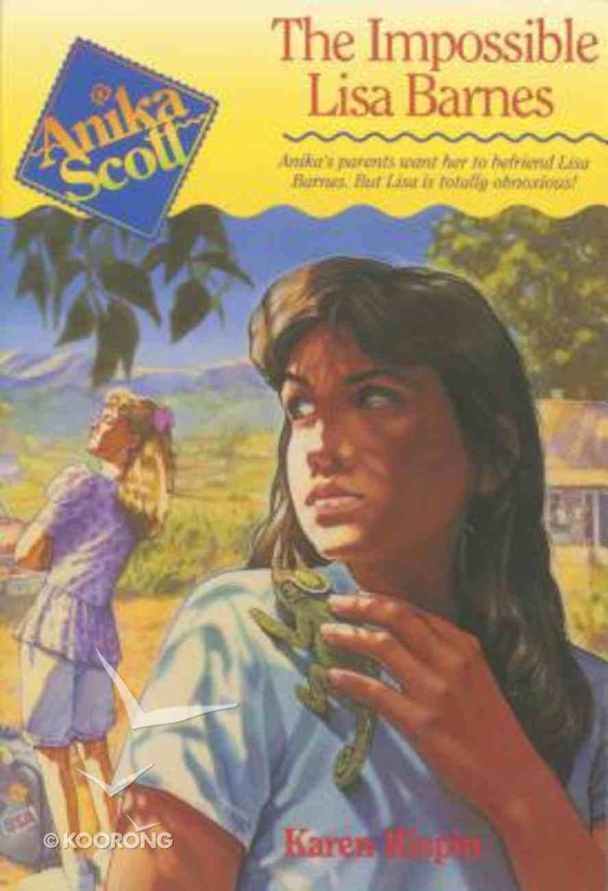 Anika Scott #01: Impossible Lisa Barnes Paperback