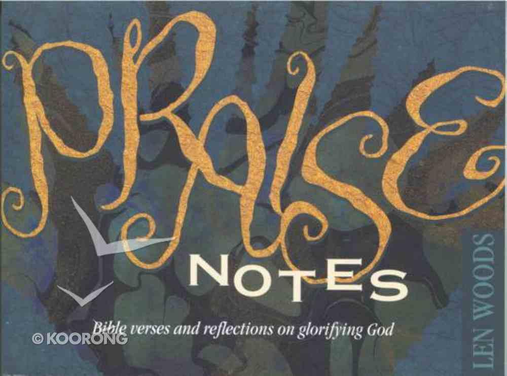 Praise Notes Paperback
