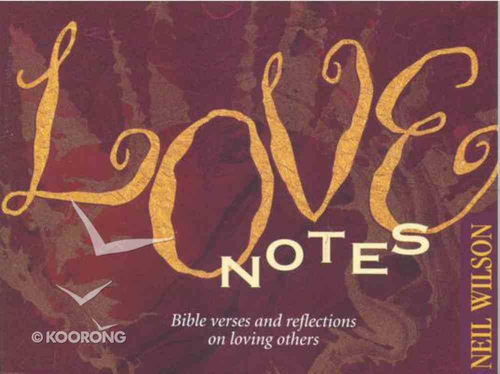 Love Notes Paperback