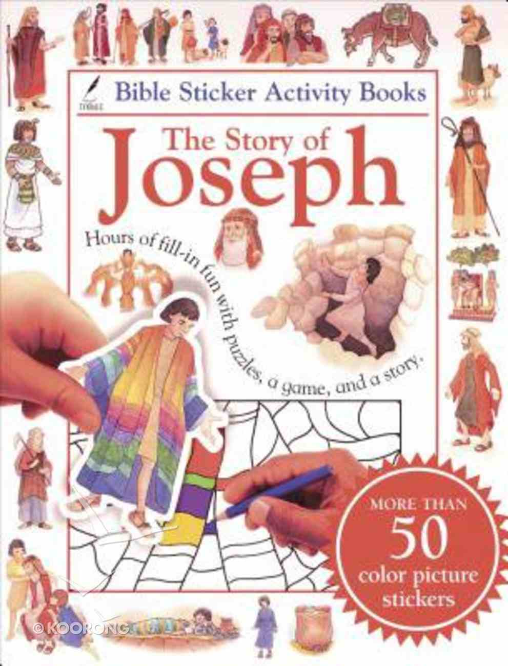 Bible Sticker Activity Book: The Story of Joseph Paperback