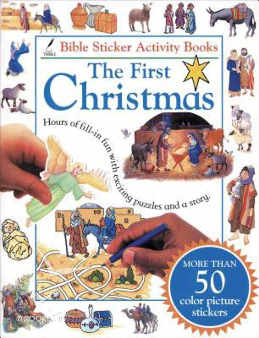 First Christmas Bible Book Paperback