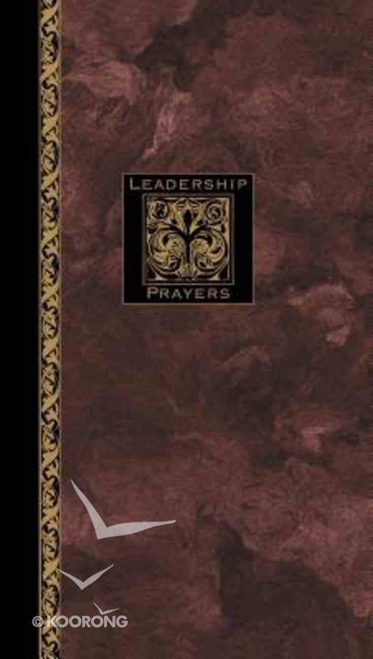 Leadership Prayers Hardback