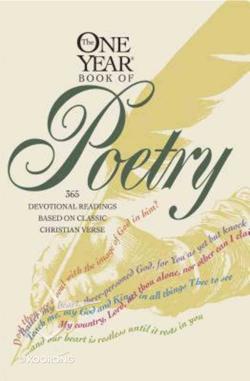 The One Year Book of Poetry Paperback
