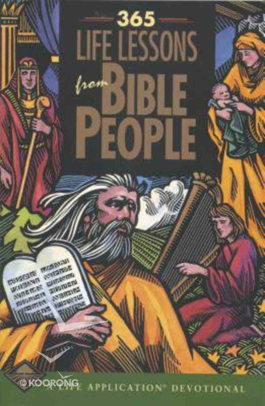 365 Life Lessons From Bible People Paperback