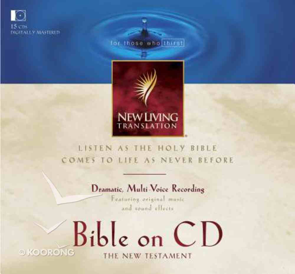 NLT New Testament Dramatised Narrated By Mike Kellogg CD