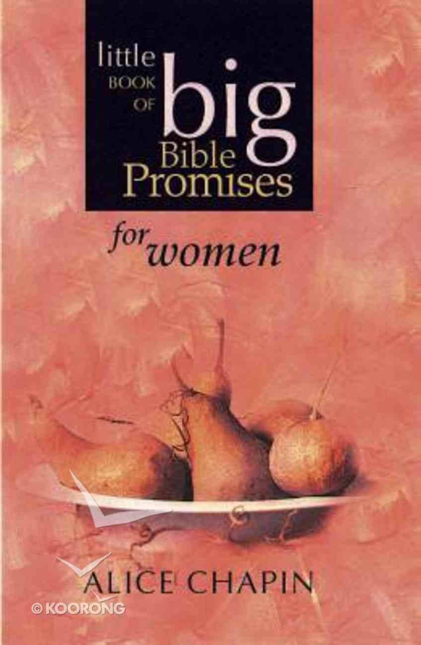 Little Book of Big Bible Promises For Women (Nlt) Paperback