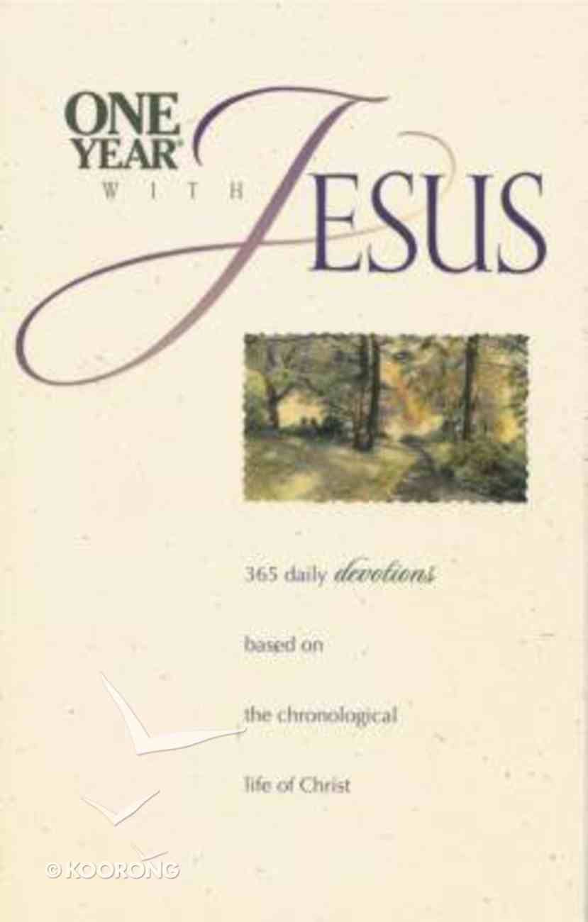 One Year With Jesus Paperback