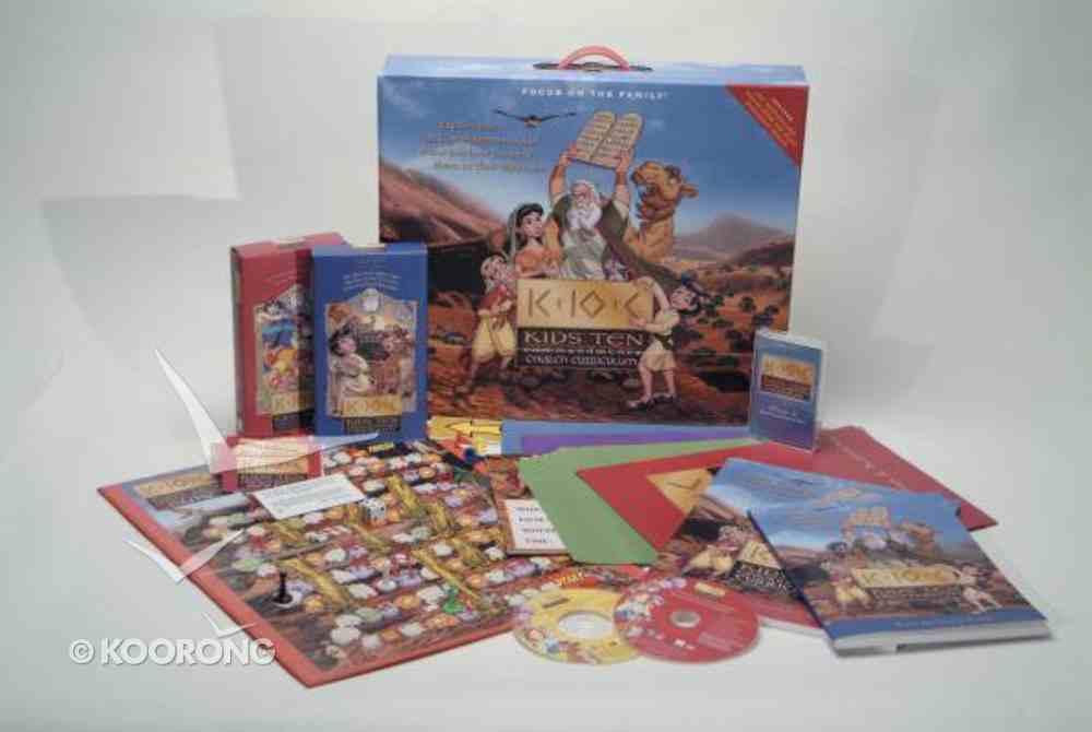 Kids' Ten Commandments (Curriculum Kit) Pack