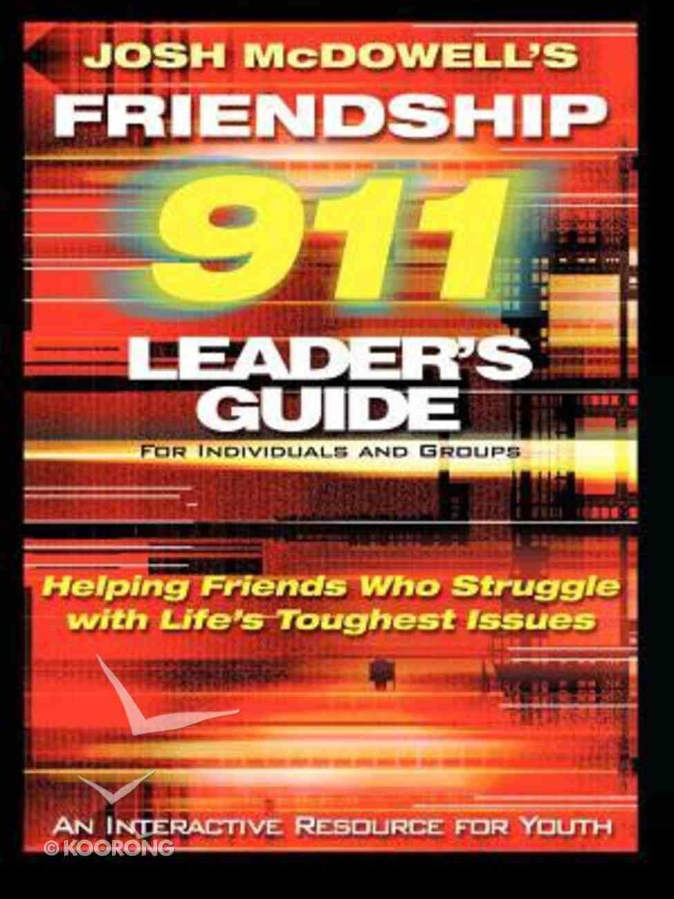 (Friendship 911 Series) Paperback