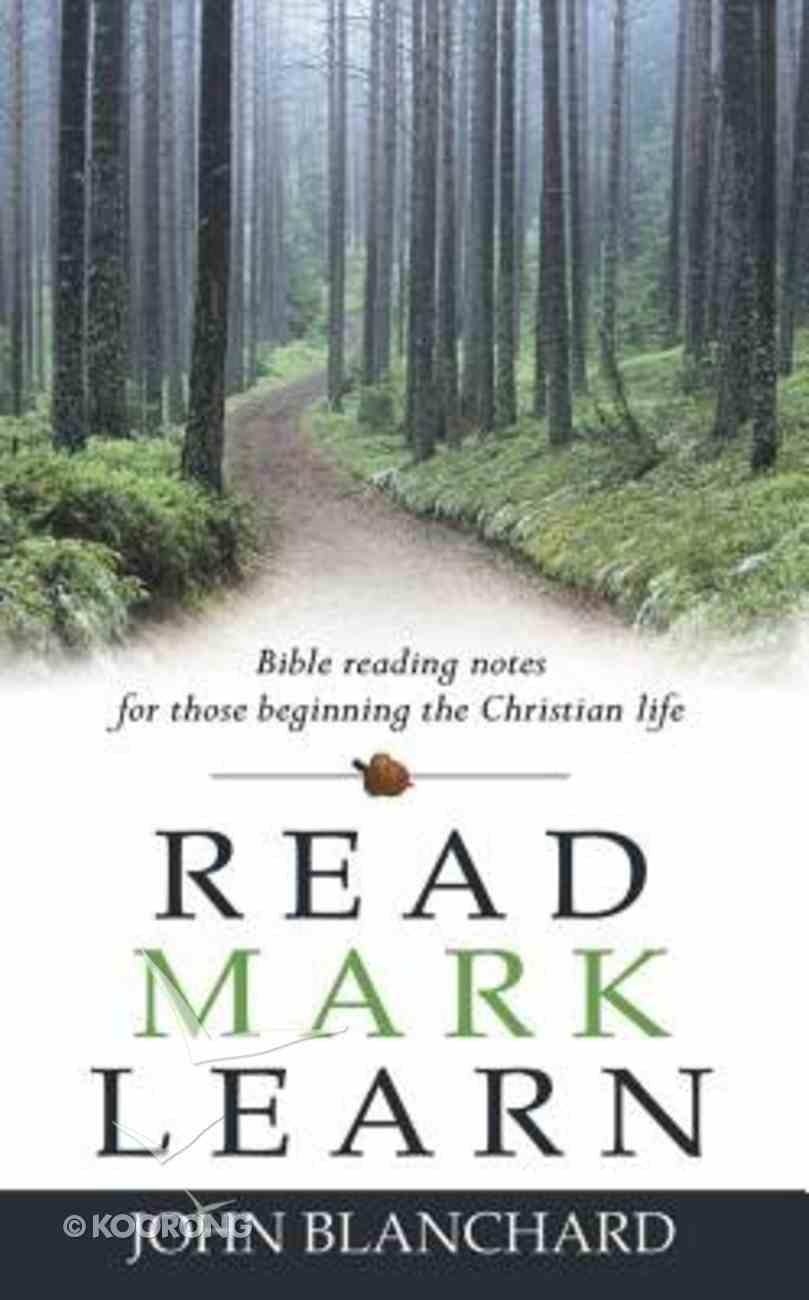 Read Mark Learn Paperback