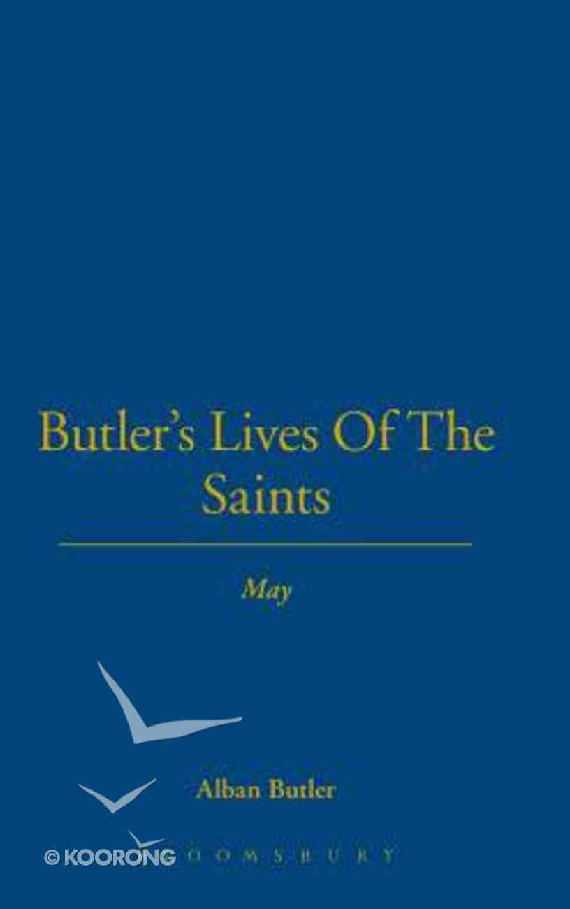May (Butler's Lives Of The Saints Series) Hardback