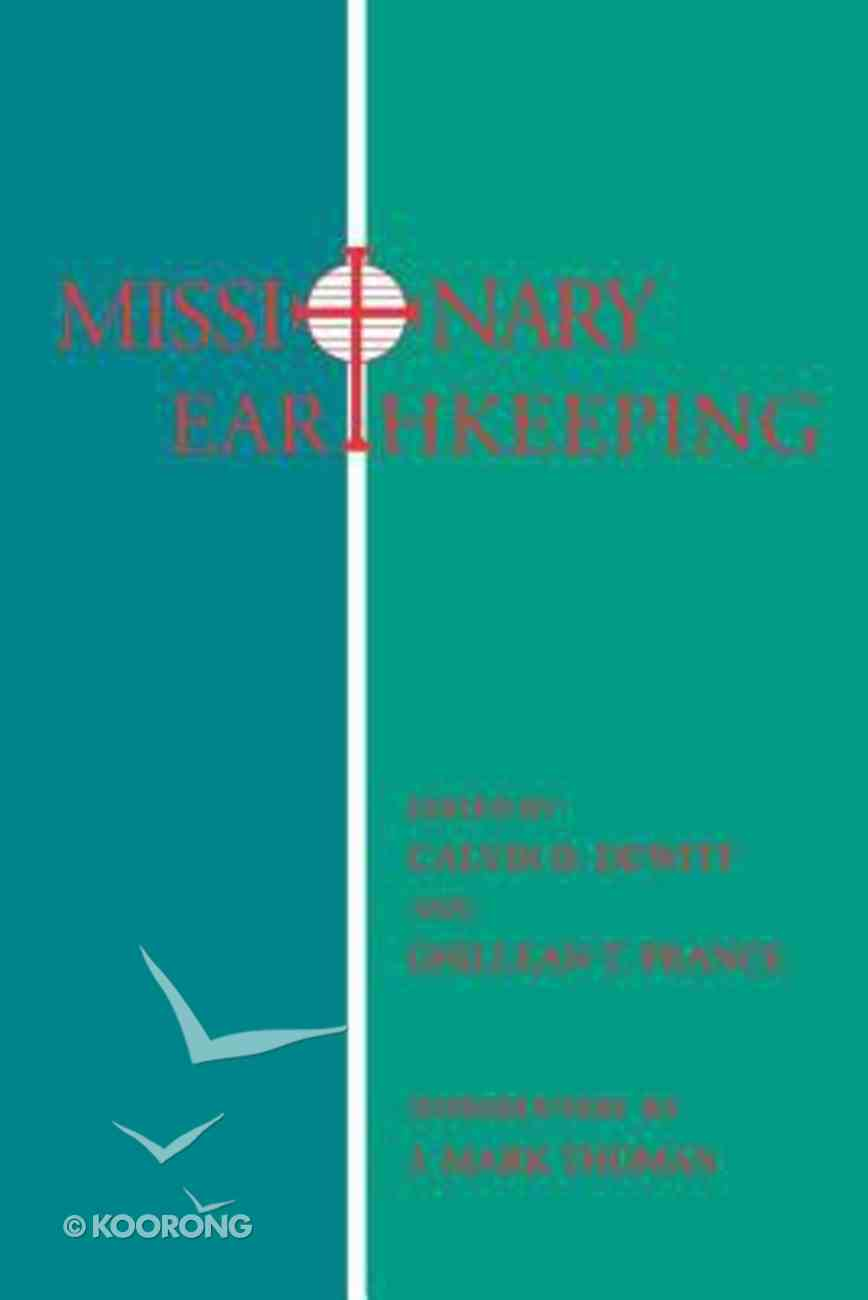 Missionary Earthkeeping Paperback