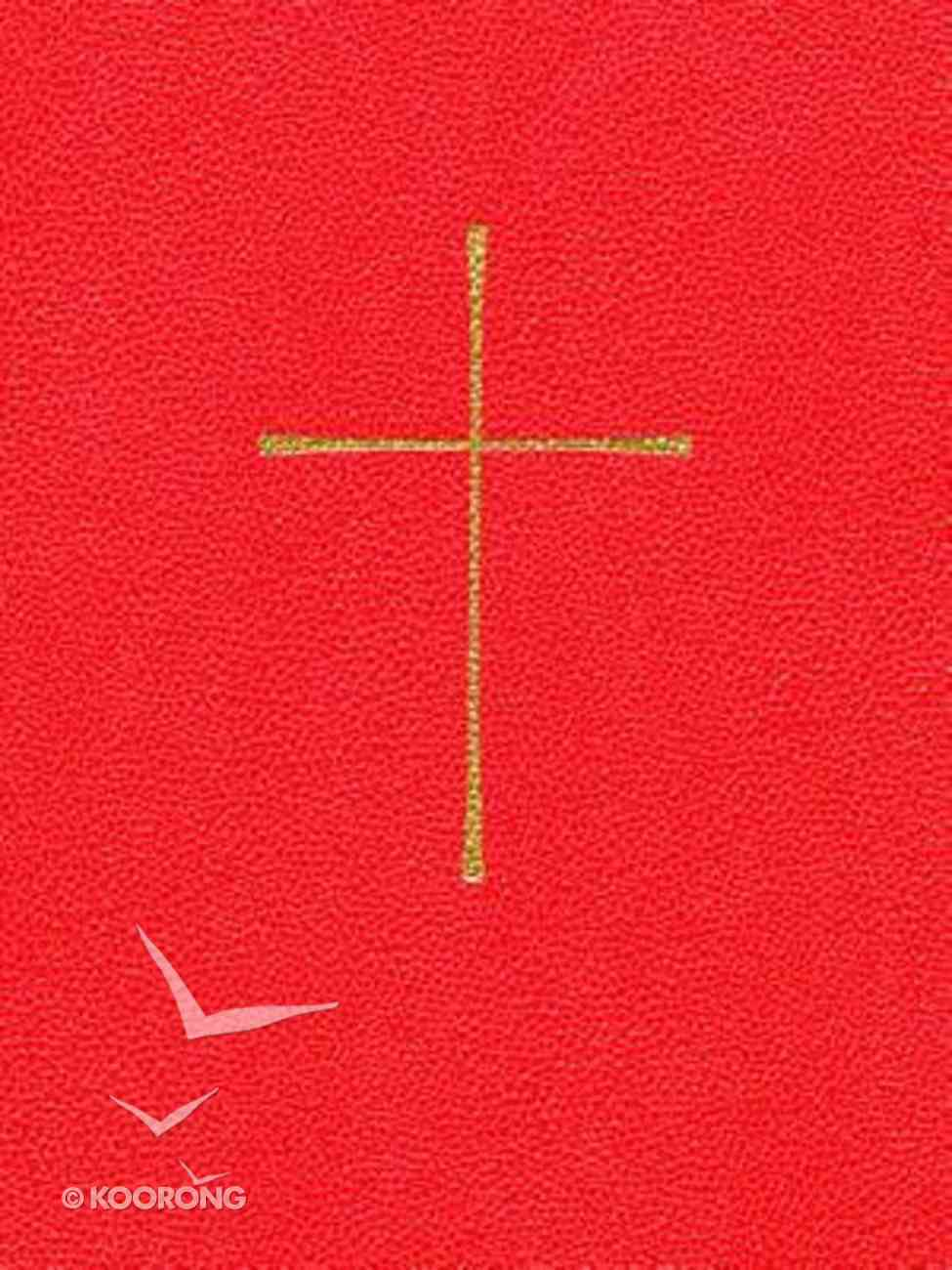 Book of Common Prayer Red Paperback
