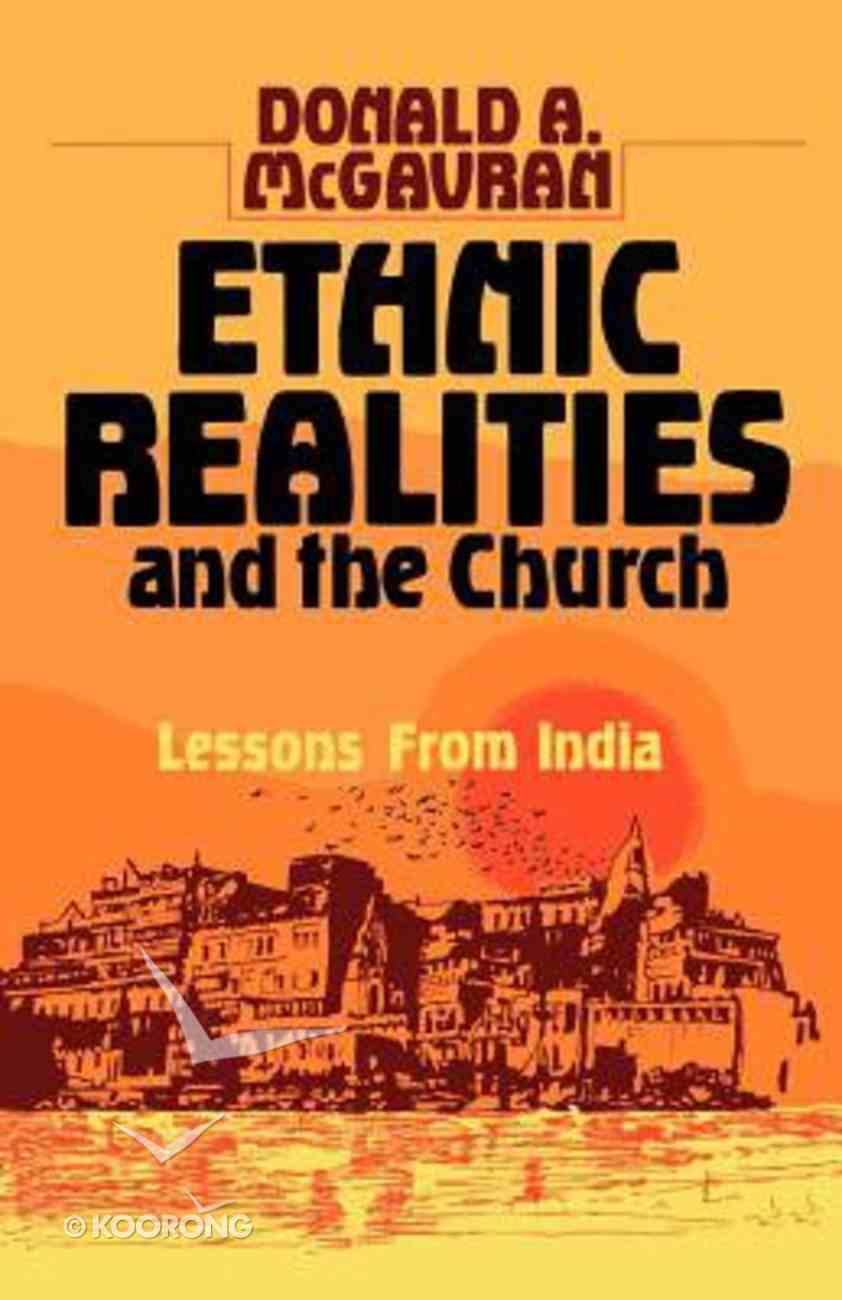 Ethnic Realities & Church Paperback