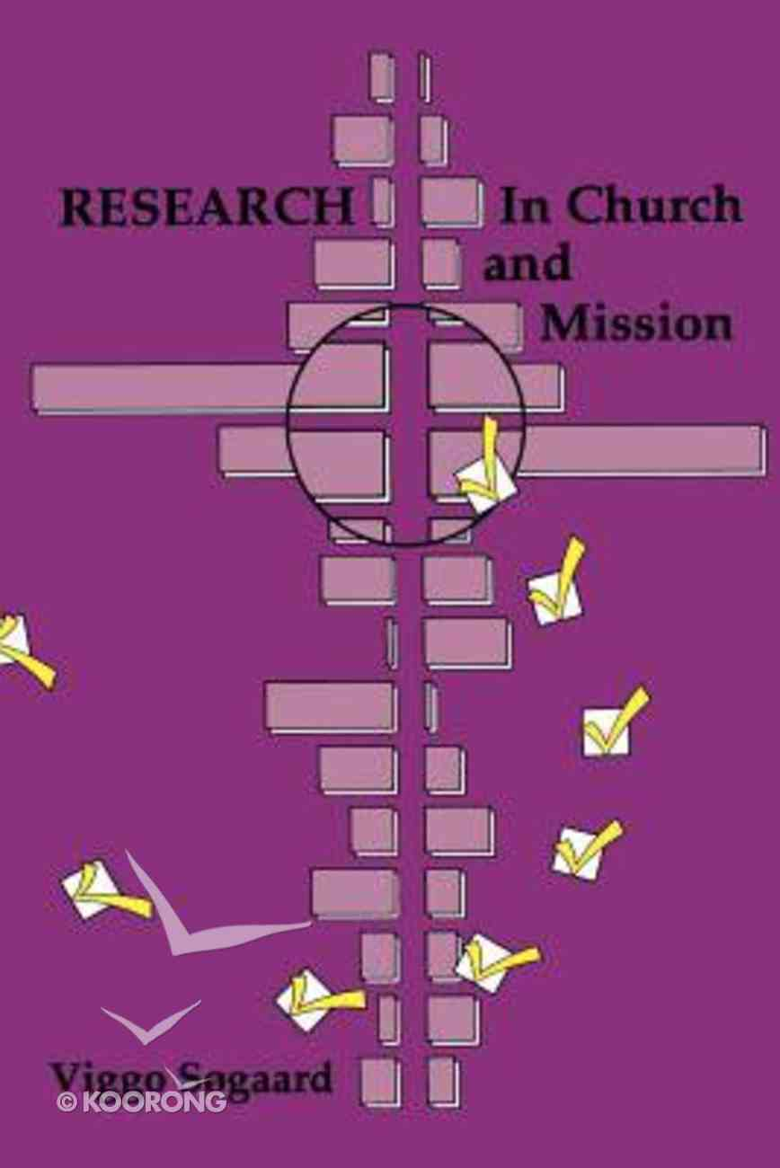 Research in Church and Mission Paperback