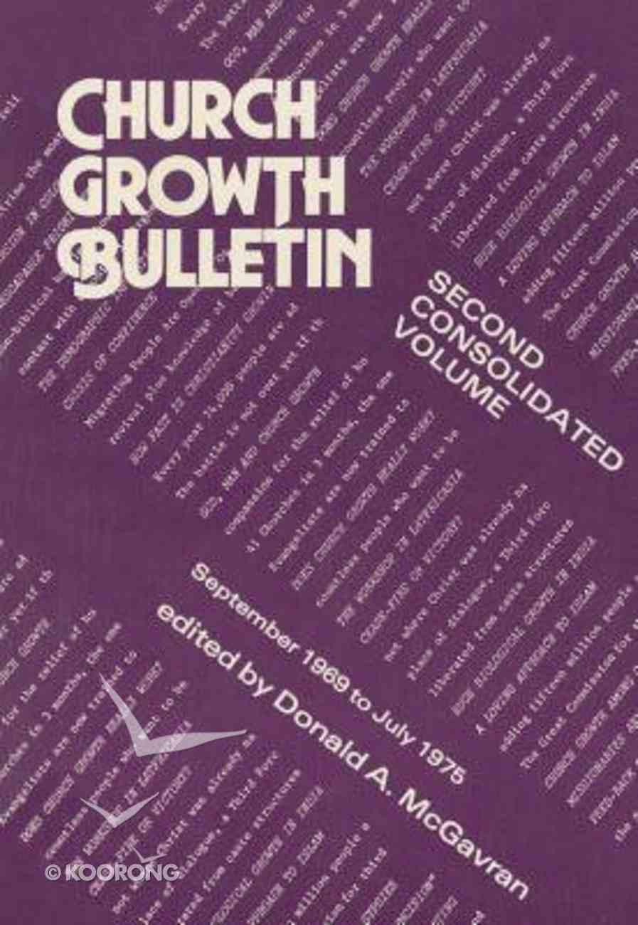 Church Growth Bulletin (Vol 2) Paperback