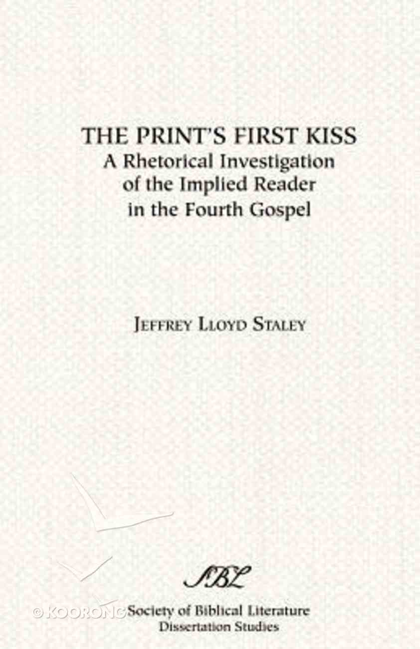 The Print's First Kiss Paperback