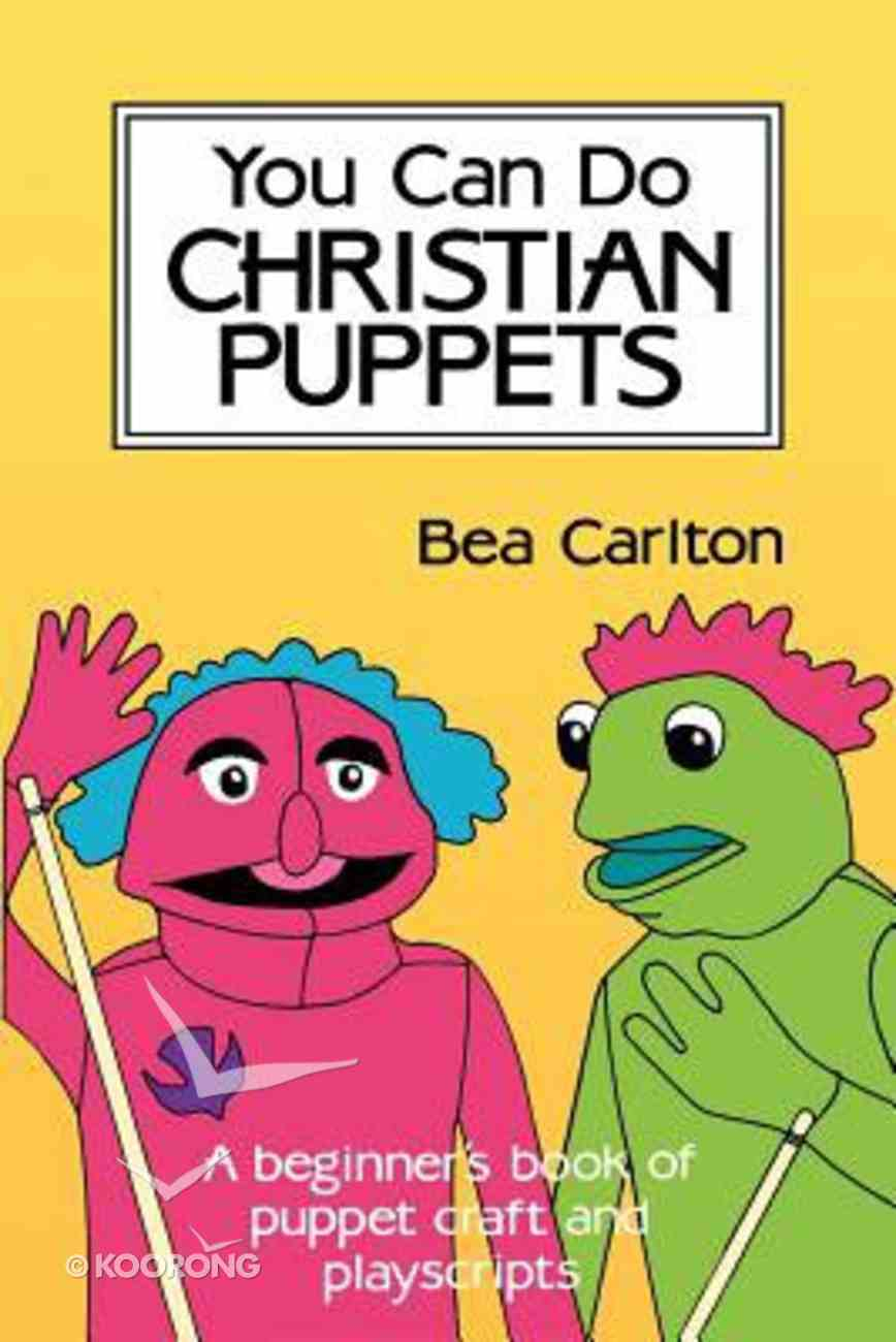 You Can Do Christian Puppets Paperback