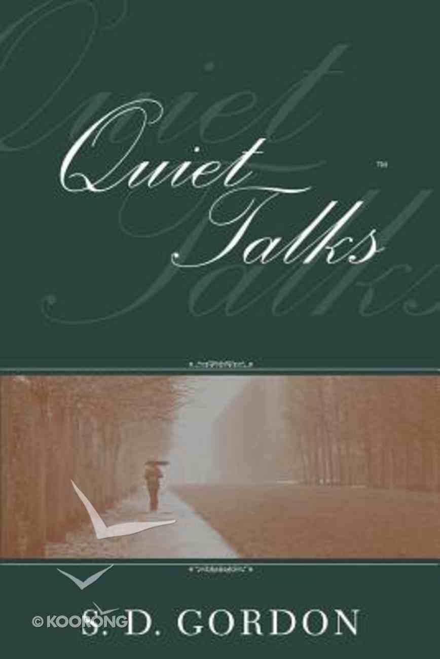 Quiet Talks on Prayer Paperback
