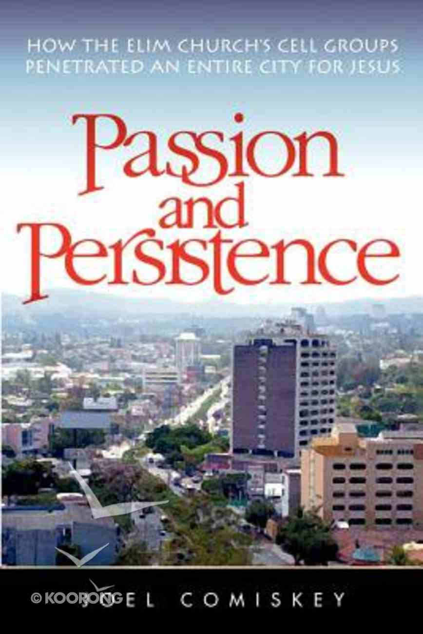 Passion & Persistence Paperback