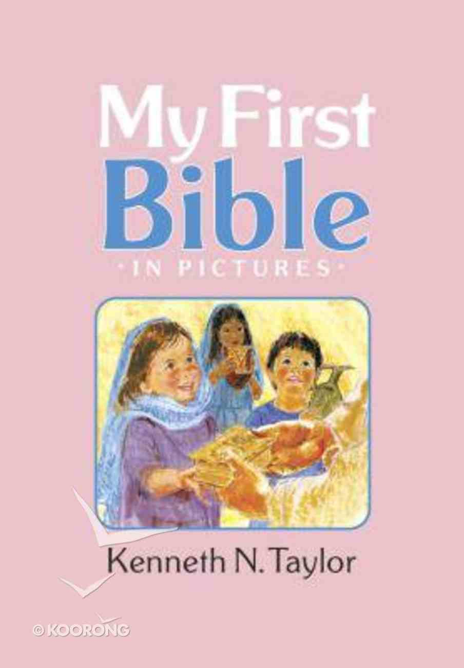 My First Bible in Pictures (Pink) Hardback