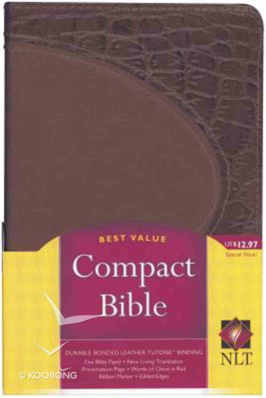 NLT Compact Promotional Brown/Brown Bonded Leather