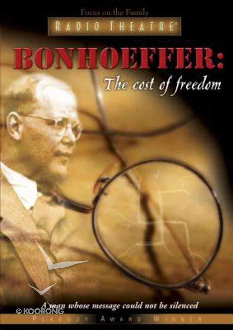 Bonhoeffer: The Cost of Freedom CD