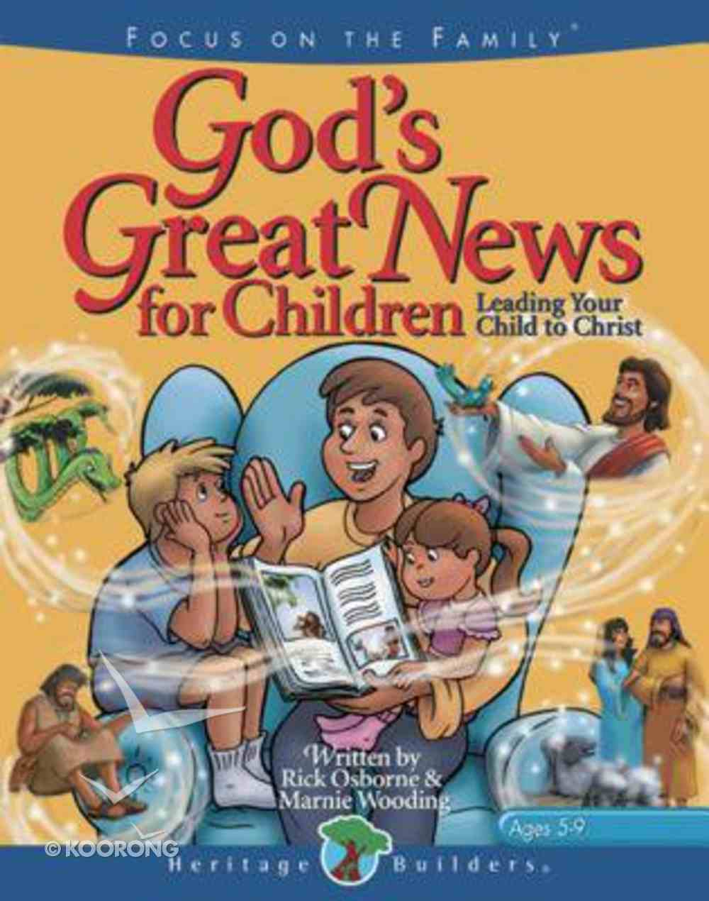 God's Great News For Children Hardback
