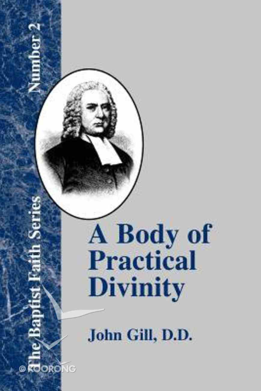 A Body of Practical Divinity Paperback