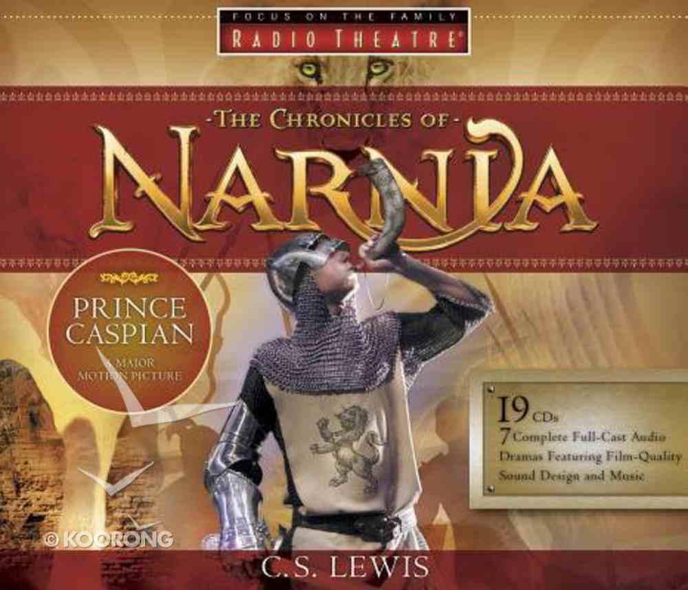 Radio Theatre Complete Set (Children) (Chronicles Of Narnia Audio Series) CD
