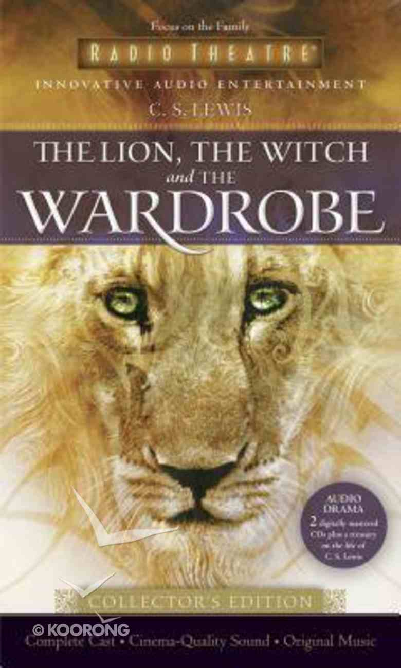 Narnia #02: Lion, the Witch and the Wardrobe, the (2 CD Set Collector's Edition) (#02 in Chronicles Of Narnia Audio Series) CD