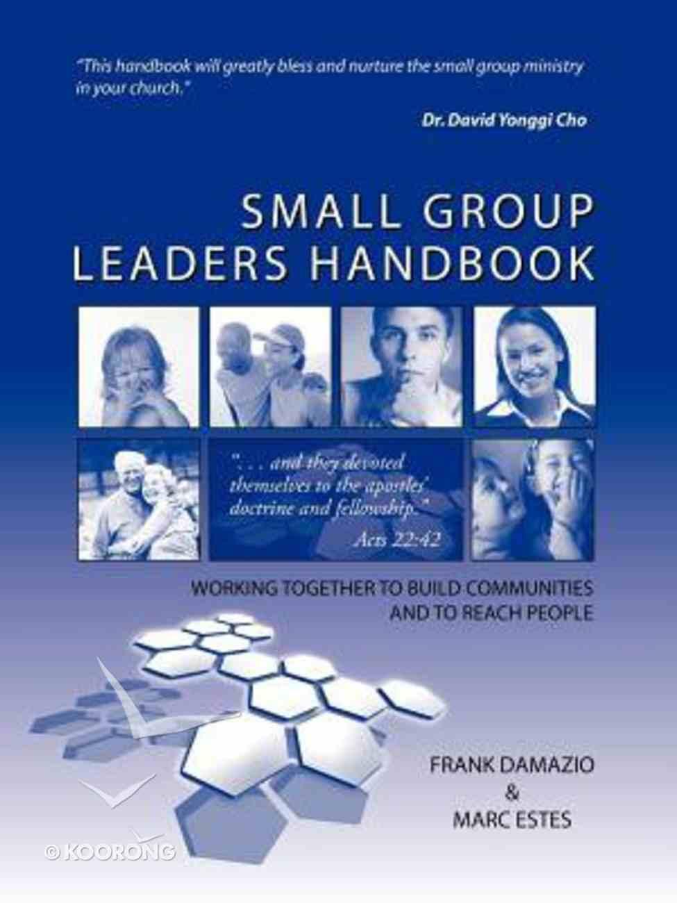 Small Group Leaders Handbook Paperback