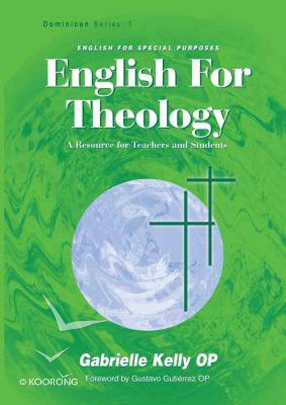 English For Theology Paperback