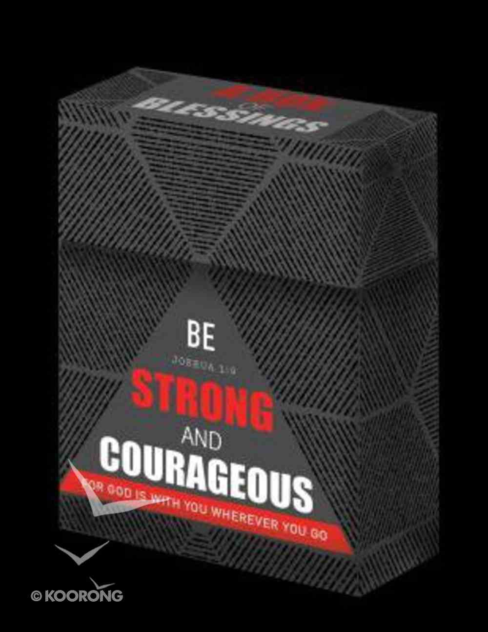 Box of Blessings: Be Strong and Courageous (For Father's) (Josh 1:9) Box