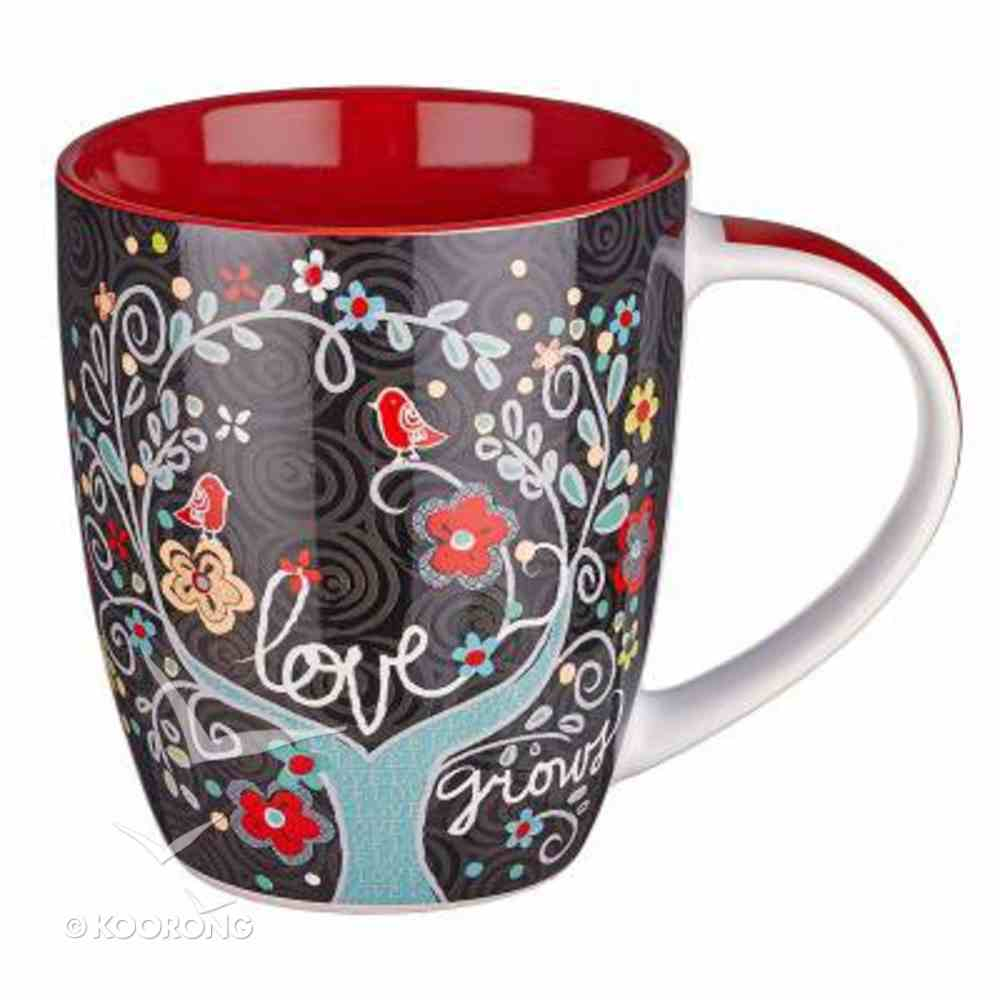 Ceramic Mug: Love Grows, God's Love Endures Forever Homeware