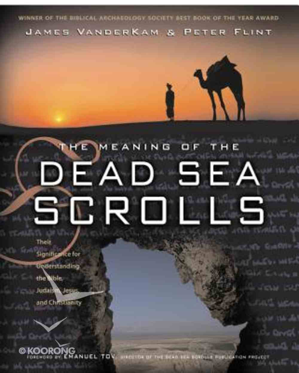 Meaning of the Dead Sea Scrolls Paperback
