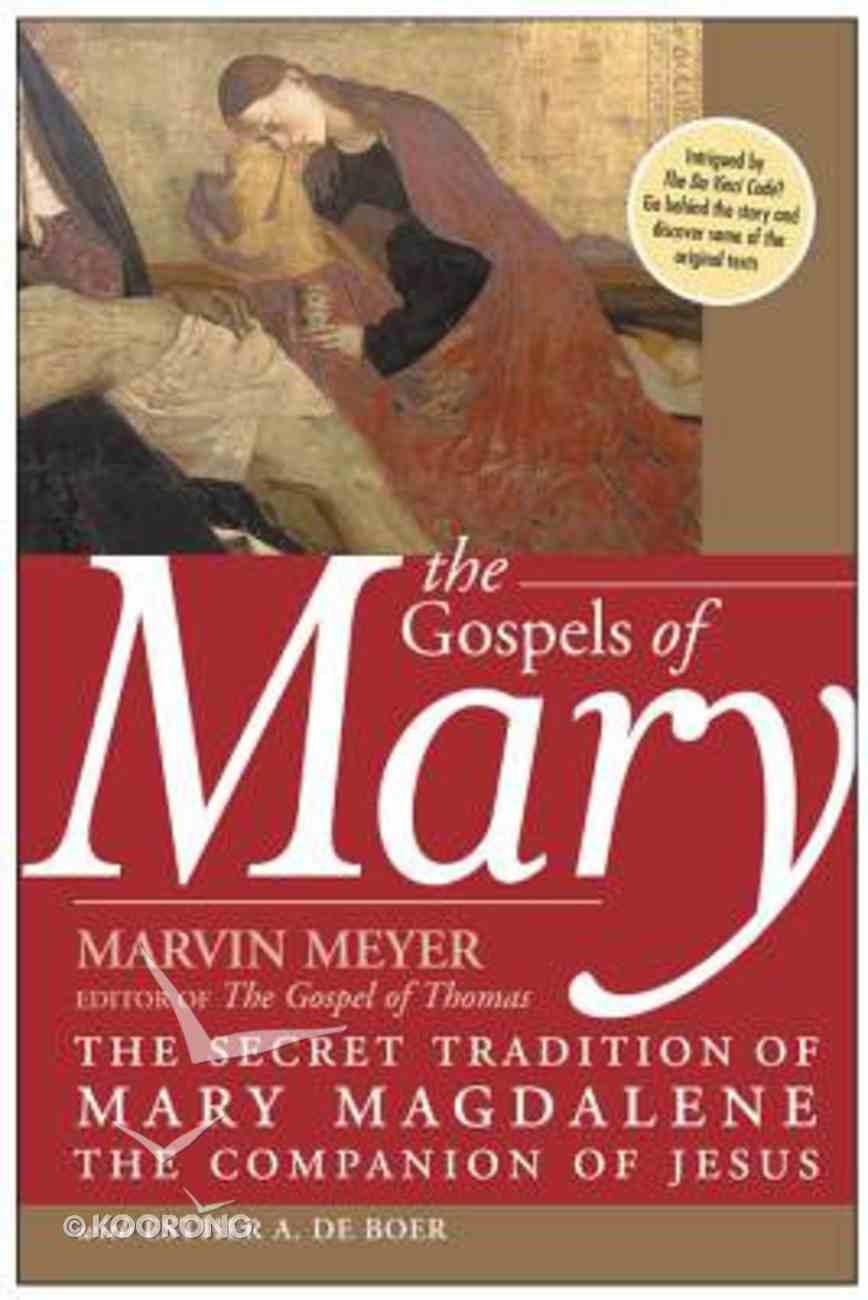 Gospels of Mary Paperback