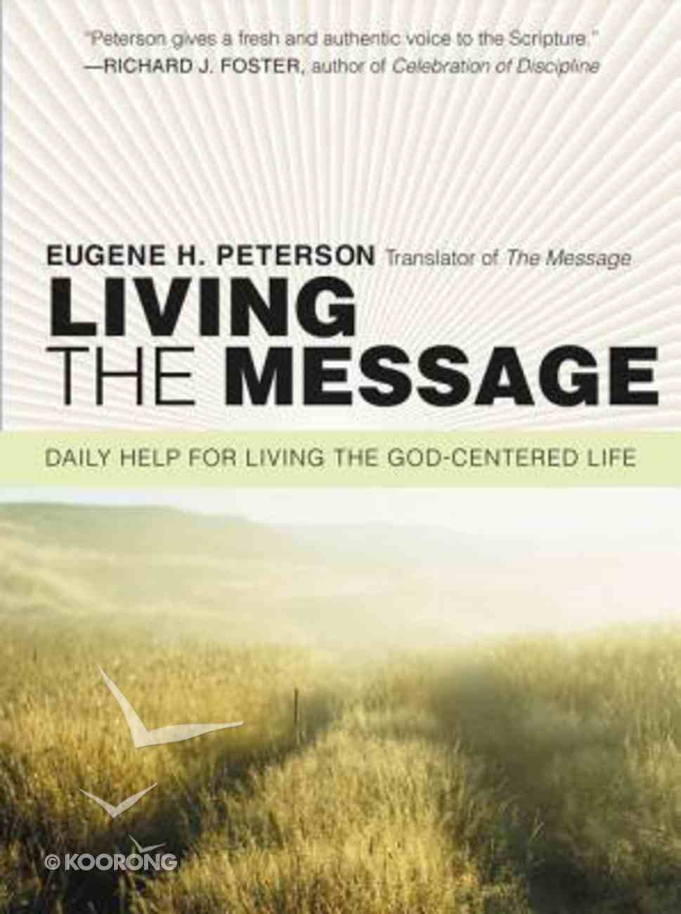 Living the Message Paperback