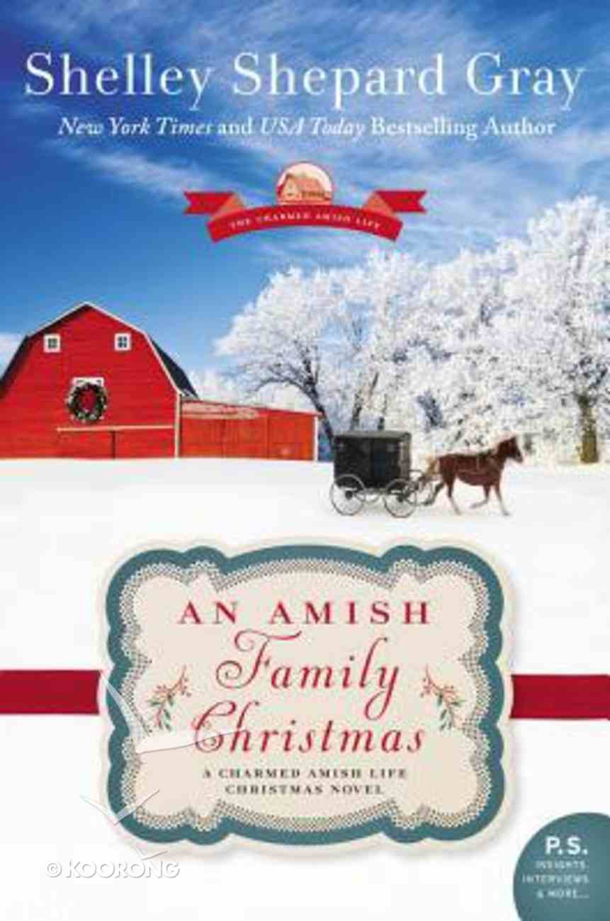 An Amish, Family Christmas (The Charmed Amish Life Series) Paperback