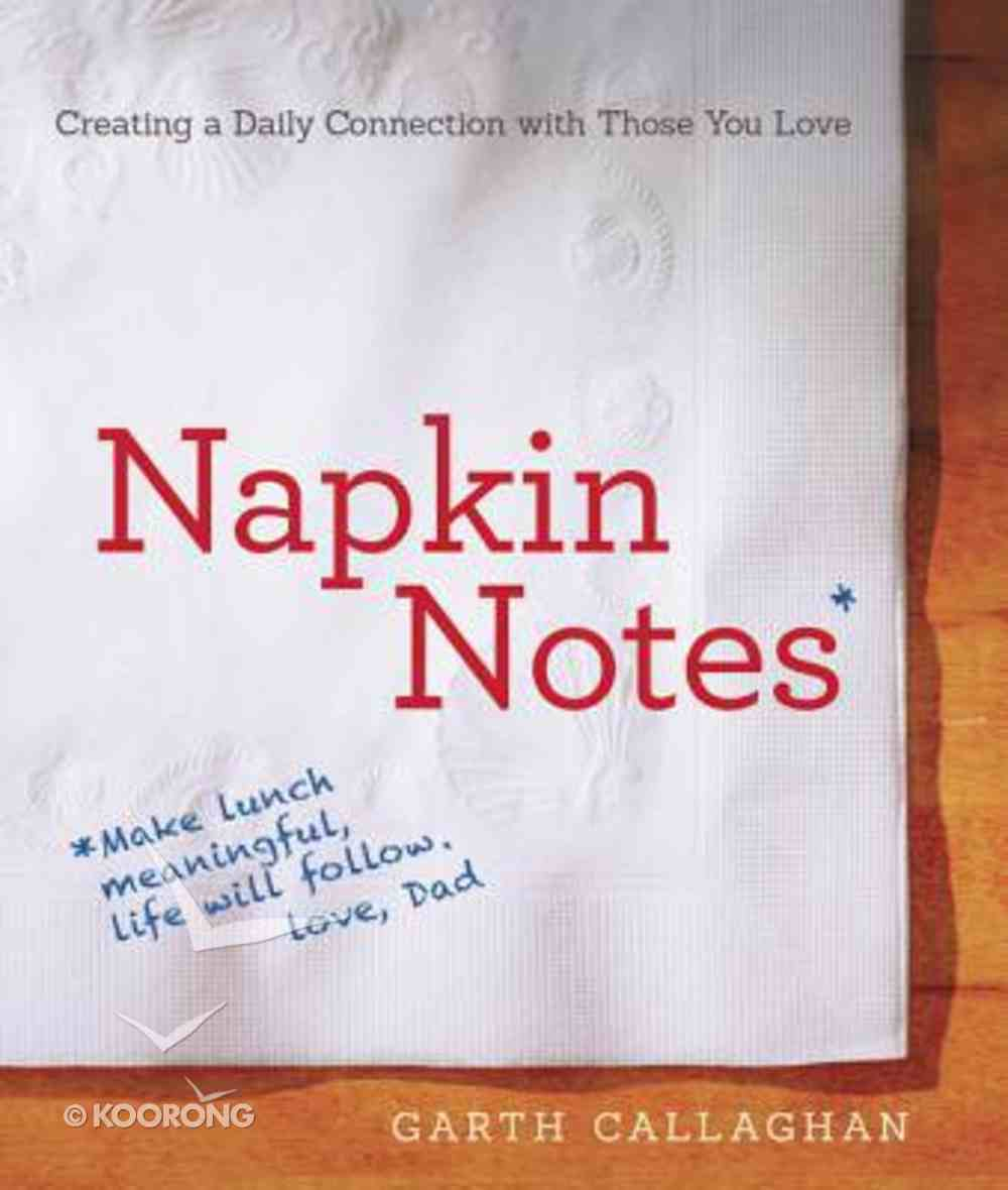 Napkin Notes Paperback