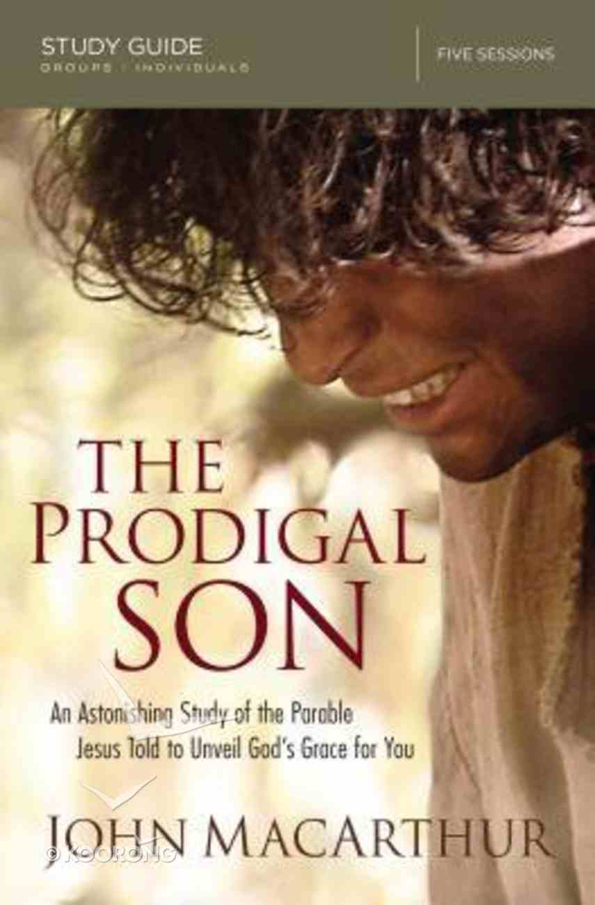 The Prodigal Son (Study Guide) Paperback