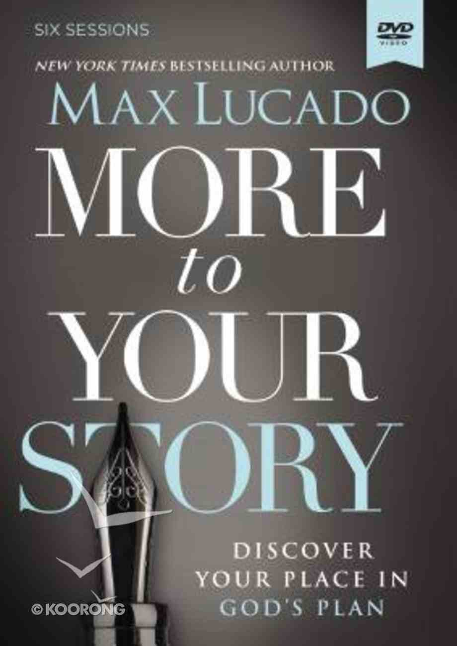 More to Your Story (A Dvd Study) DVD