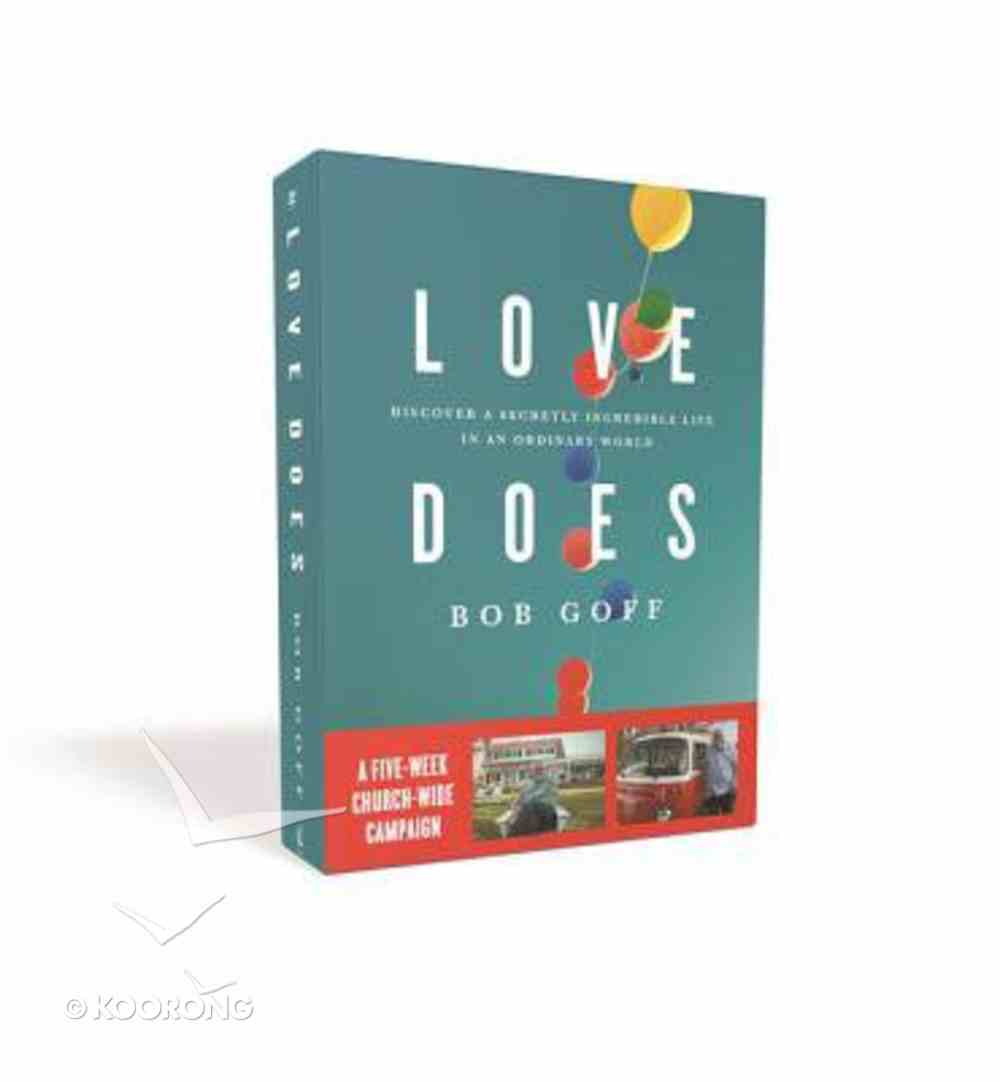 Love Does: Church Campaign Kit Pack