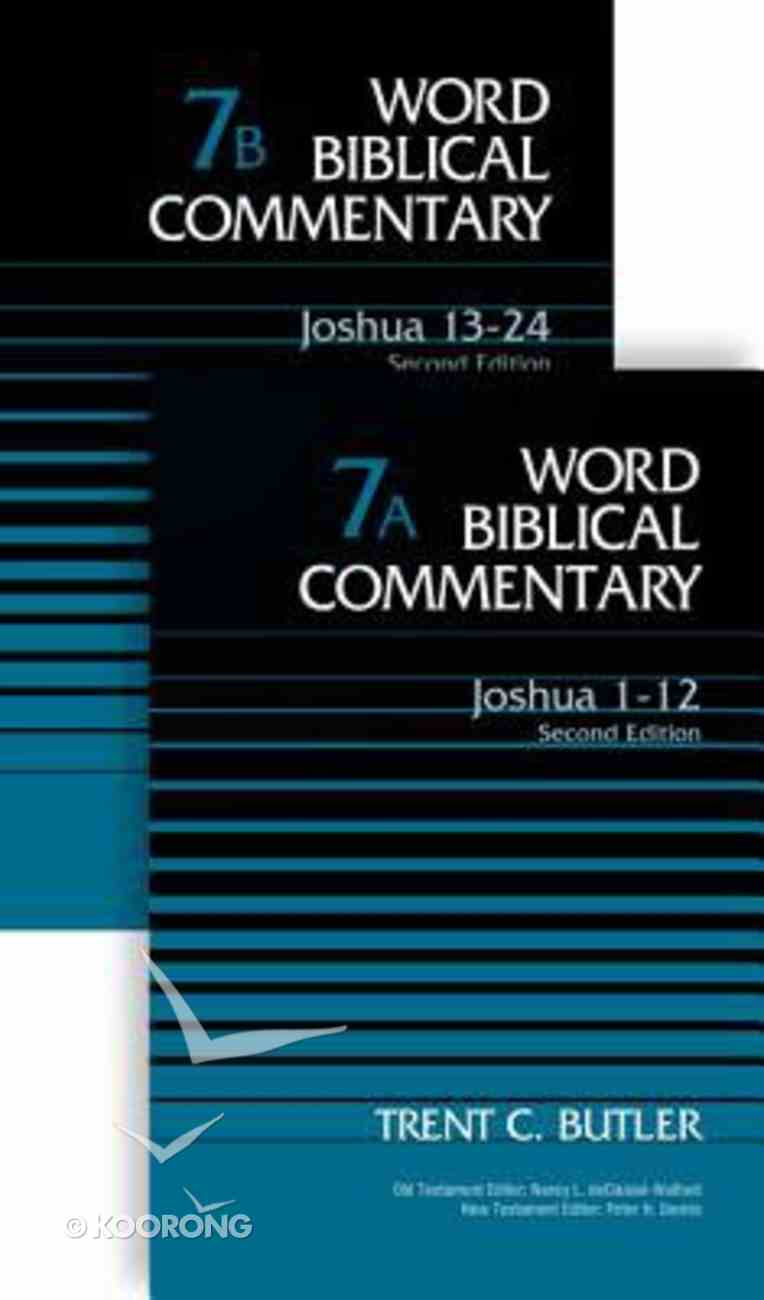 Joshua (Second Edition) (2 Volume Set) (Word Biblical Commentary Series) Hardback